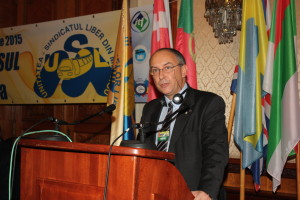 EDUARDO CHAGAS, coordonator regional al ITF pentru regiunile Europa, Asia, Pacific, America, Lumea Arabă, etc., Secretar general al Federaţiei Europene a Transportatorilor-ETF