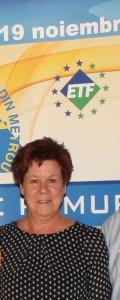 RITA COECK, secretar confederal, Confederaţia Generală a Serviciilor Publice- CGSP Belgia
