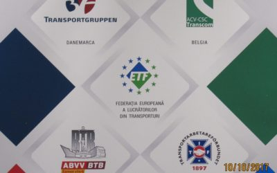 SINDICATELE TRANSPORTATORILOR EUROPENI SPUN UN NU HOTARAT DUMPINGULUI SOCIAL ŞI MILITEAZĂ PENTRU UN  TRANSPORT  ECHITABIL