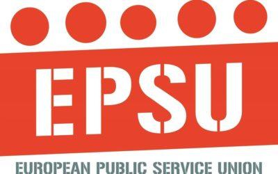 Susținere internațională EPSU – 26.03.2021